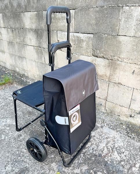 d73677778091e Nákupná taška na kolieskach a sedadlo - Komfort Hera | Nákupné tašky ...