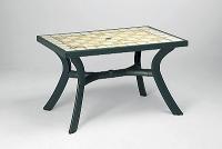 2cb01e66aa38 Plastový stůl Toscana 120x80 Ravenna - Zahradní nábytek